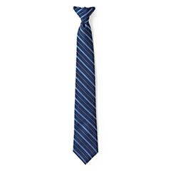 IZOD® Striped Clip-On Tie - Boys One Size