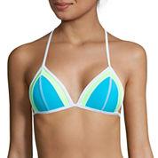 Arizona Colorblock Push-Up Triangle Swim Top or Hipster Swim Bottoms - Juniors