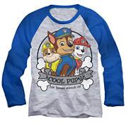 Paw Patrol Long-Sleeve Raglan T-Shirt - Toddler 2T-5T