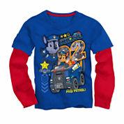Paw Patrol T-Shirt with Toy Glider - Preschool 4-7X