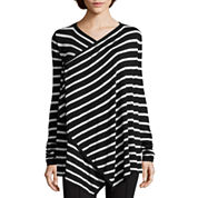nicole by Nicole Miller® Striped Cardigan
