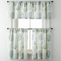 Coraline Rod-Pocket Kitchen Curtains