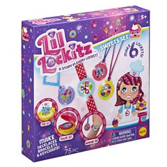 ALEX TOYS Lil Lockitz Kids Craft Kit