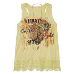 Beautees Tank Top - Big Kid Girls