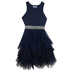 Rare Editions Embellished Sleeveless Party Dress - Big Kid Girls