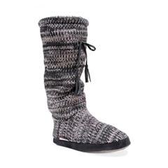 Muk Luks Tall Grace Tie Boot