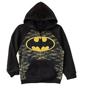 Batman Fleece Hoodie - Preschool Boys 4-7