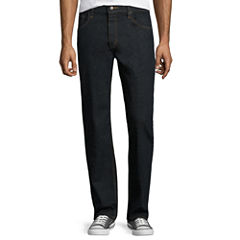 Arizona Flex Denim Relaxed-Fit Straight-Leg Jeans