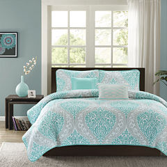 Intelligent Design Lilly Coverlet Set