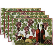 Park B. Smith® Wine Table Set of 4 Placemats