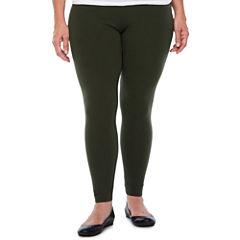 Mixit Duffle Green-Plus Leggings