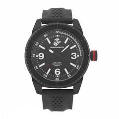 Wrist Armor U.S. Marine Corps C20 Mens Black Strap Watch-37100001