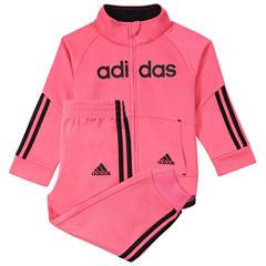 adidas 2-pc. Logo Pant Set Girls