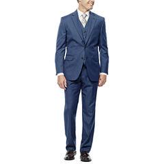Stafford® Travel Medium Blue Suit Separates - Slim Fit