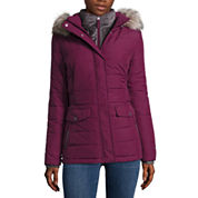 Free Country® Side-Tab Short Puffer Jacket