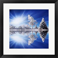 Cold Light Framed Print Wall Art