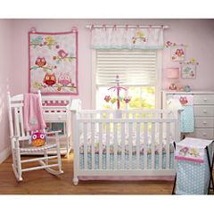 NoJo® 4-pc. Love Birds Crib Bedding Set