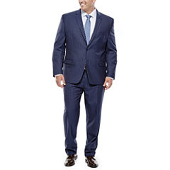 Collection by Michael Strahan Navy Striped Suit- Big & Tall