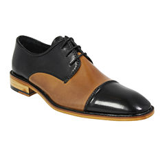 Stacy Adams® Brayden Mens Cap-Toe Oxfords