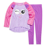 Critter 2-pc. Pajama Set - Toddler Girls 2T-4T