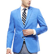 JF J. Ferrar® Cotton Cobalt Sport Coat - Slim Fit
