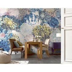Frisky Flowers Wall Mural