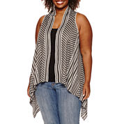 Unity® Striped Sweater Vest - Plus
