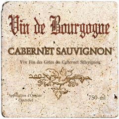 Thirstystone® Cabernet Wine Label 8