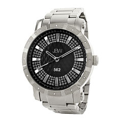 JBW 562 Mens 1/8 CT. T.W. Diamond Stainless Steel Watch JB-6225-B