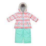 Carter's Girls Snow Suit-Toddler