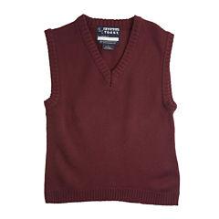 French Toast® V-Neck Sweater Vest - Boys 8-20 and Husky
