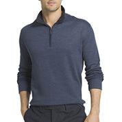 Van Heusen® Long-Sleeve Spectator Quarter-Zip Pullover