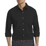 Van Heusen® Long-Sleeve Non-Iron Traveler StretchButton-Front Shirt