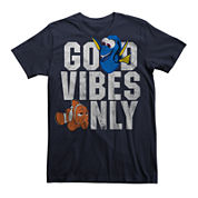 Finding Dory Short-Sleeve Cotton Good Vibes Tee