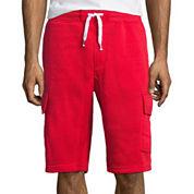 Southpole® Fleece Cargo Shorts