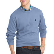 IZOD® Advantage Long-Sleeve Solid Crewneck Fleece