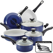 Farberware® New Traditions 12-pc. Speckled Aluminum Nonstick Cookware Set
