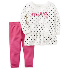 Carter's Pant Set Baby Girls