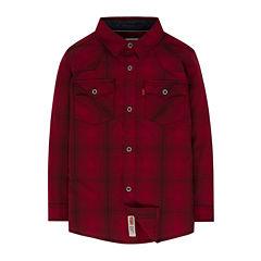 Levi's Long Sleeve Button-Front Shirt Boys