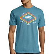 Vans® Short-Sleeve Tri-Layer Cotton Tee