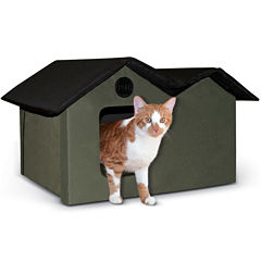K & H Manufacturing Outdoor Kitty House Extra-Wide unheated, 26.5