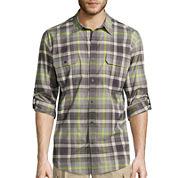 St. John's Bay® Long-Sleeve Terra Tek Fishing Shirt