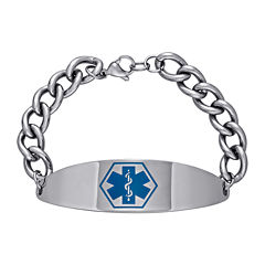 Stainless Steel Personalized Medical ID Bracelet