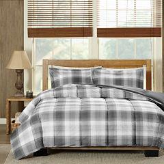Woolrich Woodsman Softspun Down-Alternative Plaid Comforter Set