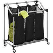 Honey-Can-Do® Elite Triple Laundry Sorter