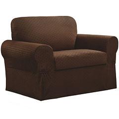 Maytex Smart Cover® Conrad Stretch 2-pc. Chair Slipcover