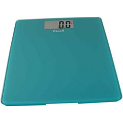 Escali® Colored Square Bathroom Digital Scale