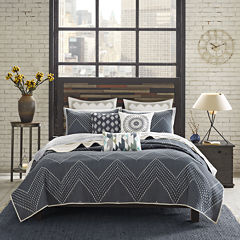 INK+IVY Pomona Chevron 3-pc. Coverlet Set