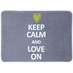 Mohawk Home® Keep Calm and Love On Bath Rug