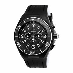 Techno Marine Mens Black Strap Watch-Tm-115056